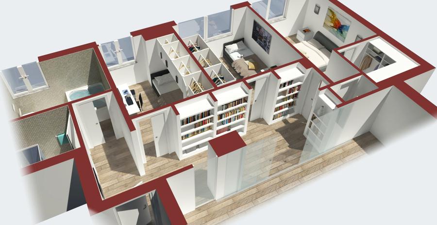 Progettazione architettonica gianluigi motta architetto for Progettazioni interni